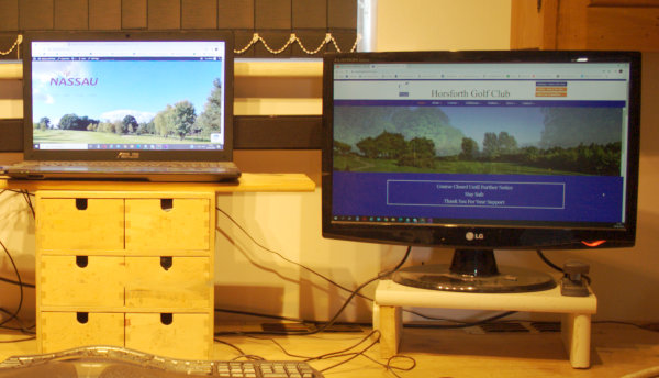 two screens will boost your productivity