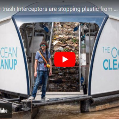 Extracting Floating Plastic Rubbish from Rivers